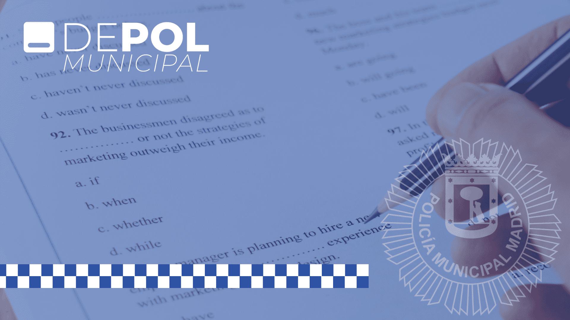5 consejos para preparar el examen de inglés para la Policía Municipal de Madrid